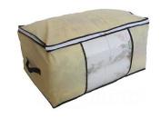 Duvet Bedding Clothing Linnen Pillows Large Storage Bag Zip Handles 53x91x47cm