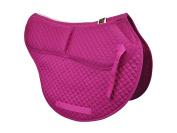 ECP Cotton Correction All Purpose Contoured Saddle Pad - Memory Foam Pockets