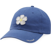 Life is good A Tattered Chill Daisy Vtgblu Hat,,