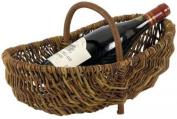 Aubry Gaspard 1130p Bakery Basket - Raw Wicker - 36 X 22 X 13.20 Cm
