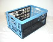 32Litre Fold Flat Plastic Storage Crate