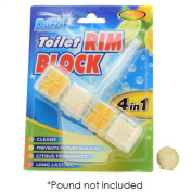 Duzzit 4 In 1 Toilet Rim Block