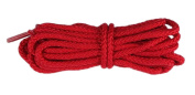 2 Pair Pack Round Durable Athletic Shoelaces - Red