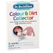 Dr Beckmann Colour & Dirt Collector 12 Sheets Keeps Colours Brighter For Longer