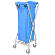 Viva Brite 100 Litre Folding Laundry Trolley