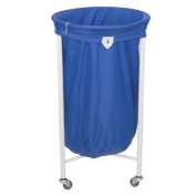 Stafford Round Laundry Trolley With Blue Bag