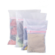 Tenn Well Laundry Bags Reusable Mesh Laundry Washing Bag With Zips Perfect Fo...