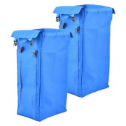 Viva Brite Twin 100 Litre Bags For Folding Laundry Trolley