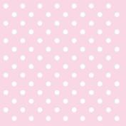 """Pink White Polka Dot 3-ply 20 Paper Napkins Serviettes 13"""" X 13"""" - 33 X 33cm"""