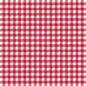 "Red White Gingham 3-ply 20 Paper Napkins Serviettes 13"" X 13"" - 33cm X 33cm"