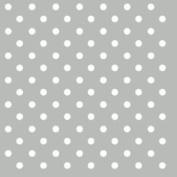"""Grey White Polka Dot 3-ply 20 Paper Napkins Serviettes 13"""" X 13"""" - 33 X 33cm"""