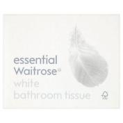 White Boxed Toilet Tissue Essential Waitrose 65 Per Pack