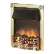 Dimplex Horton Htn20br Inset Electric Fire Brass Effect