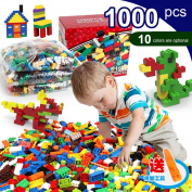 Bricks & Blocks Toys, Bestow 1000 Pcs Building Bricks Blocks Set Toys DIY Creative Brick Toys For Child Educational