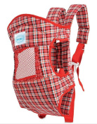 OGTOP Summer Multi-functional Baby Strap Breathable Four Seasons Common Shoulders Front Brace,Red