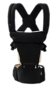 OGTOP Baby Strap Waist Stool Cotton Stool Multi-functional Four Seasons With Belt,Black