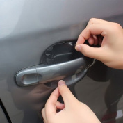Bodhi2000 3Sets/12Pcs Universal Car Door Handle Anti-Scratch Protective Film Adhesive Sticker Protector