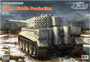 1/35 Tiger I Heavy Tank Middle Production Full Interior Plastic Model(Released)