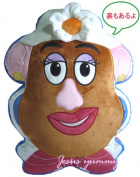 With Toy Story enthusiast Toy Story cushion Mister potato head married woman potato head souvenir bag!