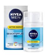 Nivea MEN Active Energy Facial Care Gel 50 ml
