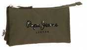 Pepe Jeans Harlow Beauty Case, 22 cm, 1.32 litres, Green