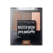 Maybelline Master Brow Pro Palette Kit Soft Brown 3.4g