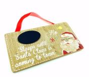 New Wooden Santa Christmas Countdown Sleeps Until Xmas Xm2329