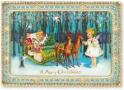 Mini Advent Calendar Christmas Card - Christmas Magic - Forest Cherubs