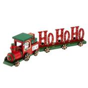 Ho Ho Ho Wooden Christmas Train Advent Calendar