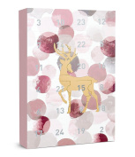 """Six """"christmas"""" Advent Calendar 24 Jewellery Surprises Gifts Presents Golden To"""