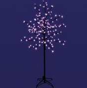 Premier Christmas Decoration Led 1.5m Lit Cherry Blossom Tree - Pink