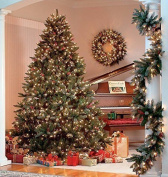 The Christmas Workshop 200 Led Pre Lit Frosted Berry Christmas Tree, Warm White