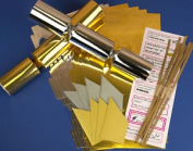 8 Gold & Silver Mix Make & Fill Your Own Cracker Making Craft Kit