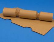 12 Mini Tan Brown Make & Fill Your Own Cracker Boards