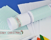 8 White Shabby Chic Make & Fill Your Own Christmas Crackers