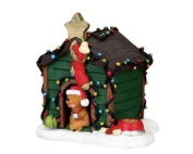 Lemax Christmas - Decorated Light Doghouse 02808