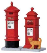 Lemax Christmas Village, Victorian Mailboxes
