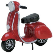 Red Moped - Lemax Christmas Village