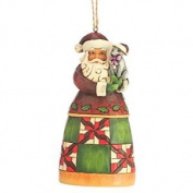 "Heartwood Creek ""santa With Cat"" Hanging Ornament"