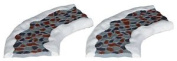 Lemax Christmas Village, Stone Road Curved 2pcs