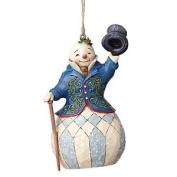 Heartwood Creek Victorian Snowman Hanging Ornament