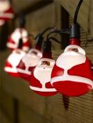 Smart Garden Battery Operated Santa String Lights