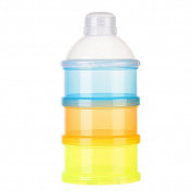 Pueri Formula Dispenser Non-Spill Portable Baby Milk Powder Box Dispenser Storage Snack Container