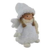 Small Christmas White Snow Angel – Doll Ornament Decoration Plush Enchante