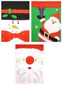 Large Christmas Santa Sack - 68cm X 47cm - Present Toy Bag