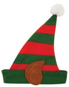 Child Elf Hat With Ears - Christmas Party Celebration