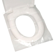 MyLifeUNIT Disposable Toilet Seat Covers, Travel Waterproof Potty Covers, 100 Count