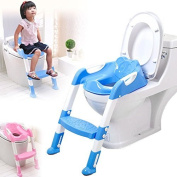 A-goo - Baby Toddler Potty Training Toilet Ladder Seat Steps Assistant Potty For Toddler Child Toilet Trainer