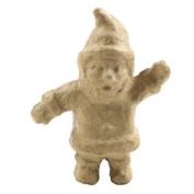 Decopatch No190 Mache Decoupage Christmas Figure Medium - Santa Claus