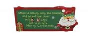 Gisela Graham Countdown To Christmas Plaque - Hanging Christmas Advent Countdown